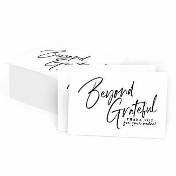 75 Beyond Grateful Thank You For Your Order Small Business