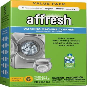 Affresh Washing Machine Cleaner, Cleans Front Load and Top