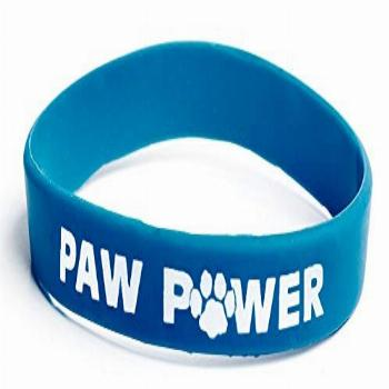 Anderson's Blue Paw Power Spirit Wristband Set, 12 Pack