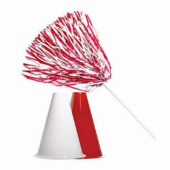 Anderson's Red and White Poms and Megaphones Set, School