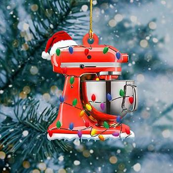 Baking Mixer with String Lights 2021 Christmas Tree
