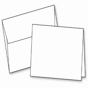Blank White Invitation Cards with Envelopes All Occasions,