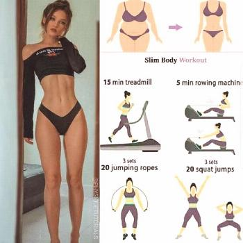 Bust boredom, blast fat and tone your body in one 20-minute workout. This exercise plan combines al