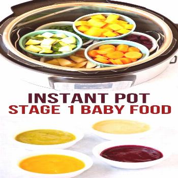 Did you know that you can make healthy, nutritious baby food right in your Instant Pot? Instant Pot