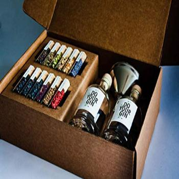 DIY Gin-Making Alcohol Infusion-Kit, Featured in Vogue, 12