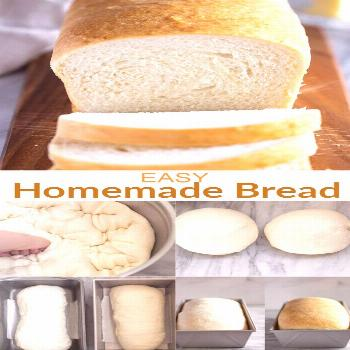 Homemade Bread There's nothing easier to make than homemade bread, with just six pantry ingredients