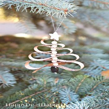Homemade Essential Oil Diffuser Christmas Tree Ornament - Happy Deal - Happy Day! -
