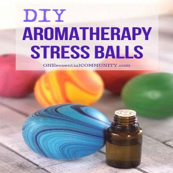 How to Make Aromatherapy Stress Balls - One Essential Community