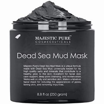 Majestic Pure Dead Sea Mud Mask for Face and Body - Natural