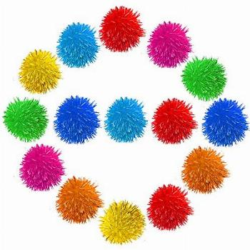 Meric Cat Toy Sparkle Ball Jumbo Pack, Unleash Your Cat's