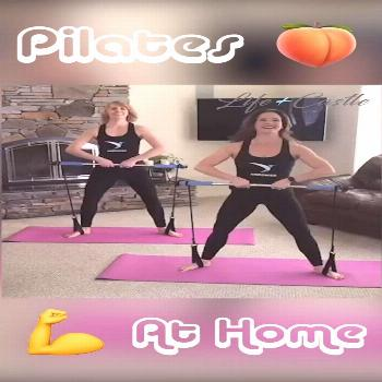 Pilates At Home! ? This Pilates Bar Lets You Workout From ANYWHERE! At Home Workouts Have Never