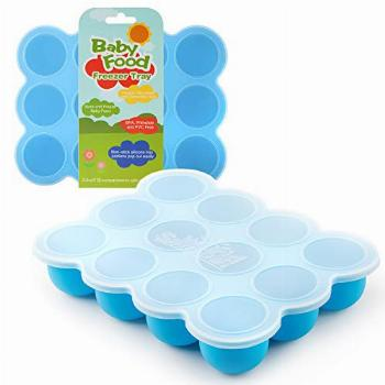 Samuelworld Baby Food Storage Container, 12 Portions Freezer
