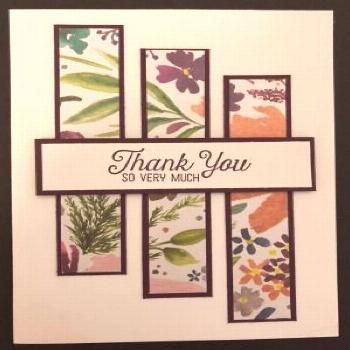 Stampin' Up! Frosted Florals Specialty Designer Series Paper, One Sheet Wonder, Stampin' Studio