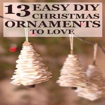 There is something to be said about homemade ornaments. DIY ornaments give your Christmas tree Vict