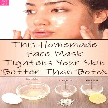 This Homemade Face Mask Tightens Your Skin Better Than Botox - She Made by Grace Get the latest bea