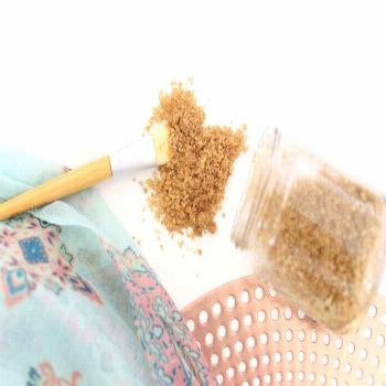 This simple homemade facial scrub is by far the best I have ever used. No nasty ingredients on your