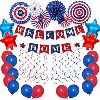 Welcome Home Decorations Military, Welcome Home Balloons