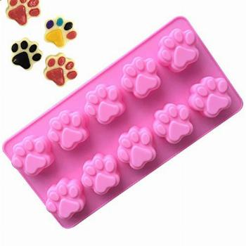 Yicare Silicone Dog Paw Mold Homemade Treats and Cat Animal