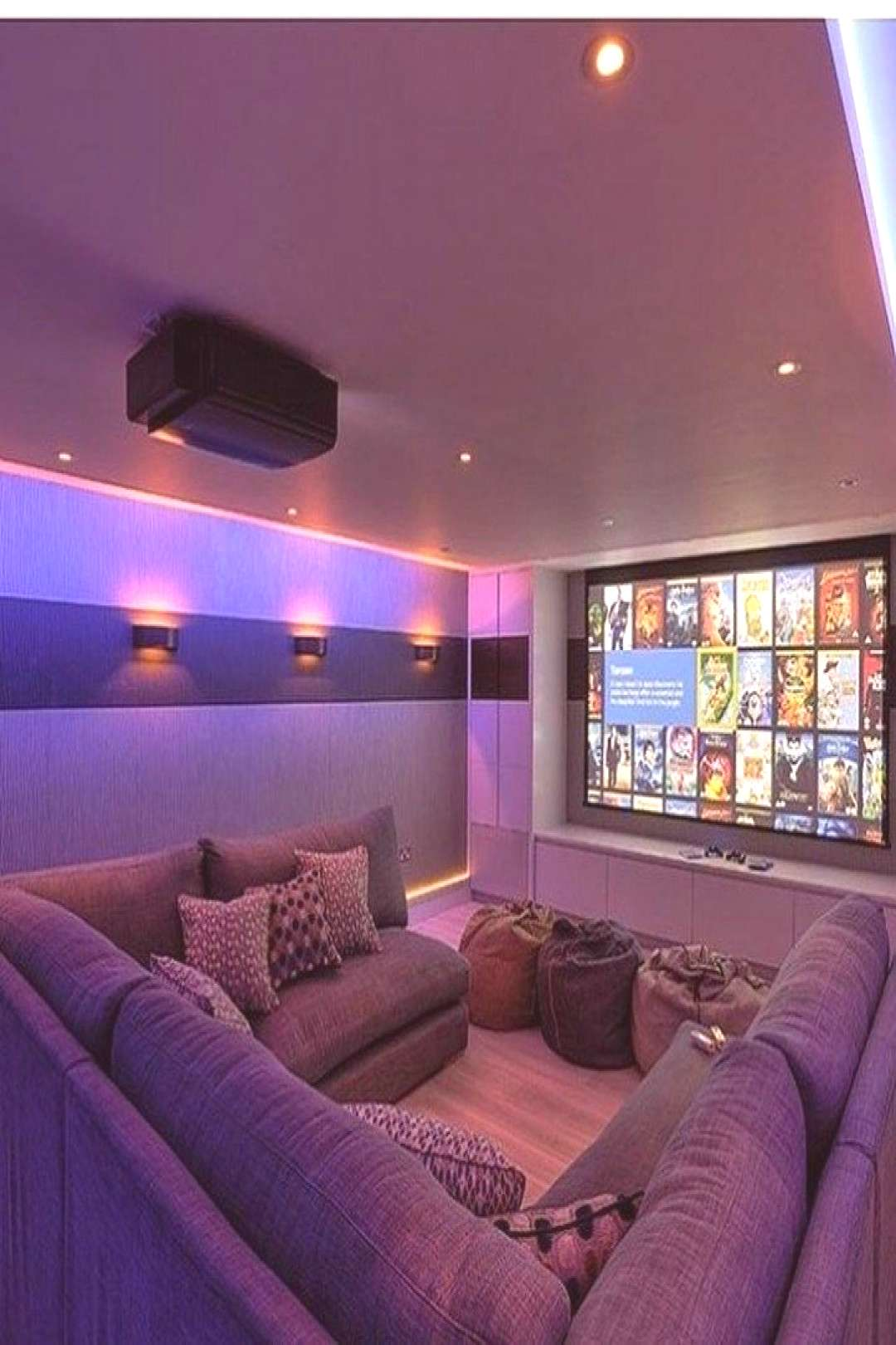 40 Luxury Home Theater Room Inspirations - Since electronic devices such as mobile phones, tablets