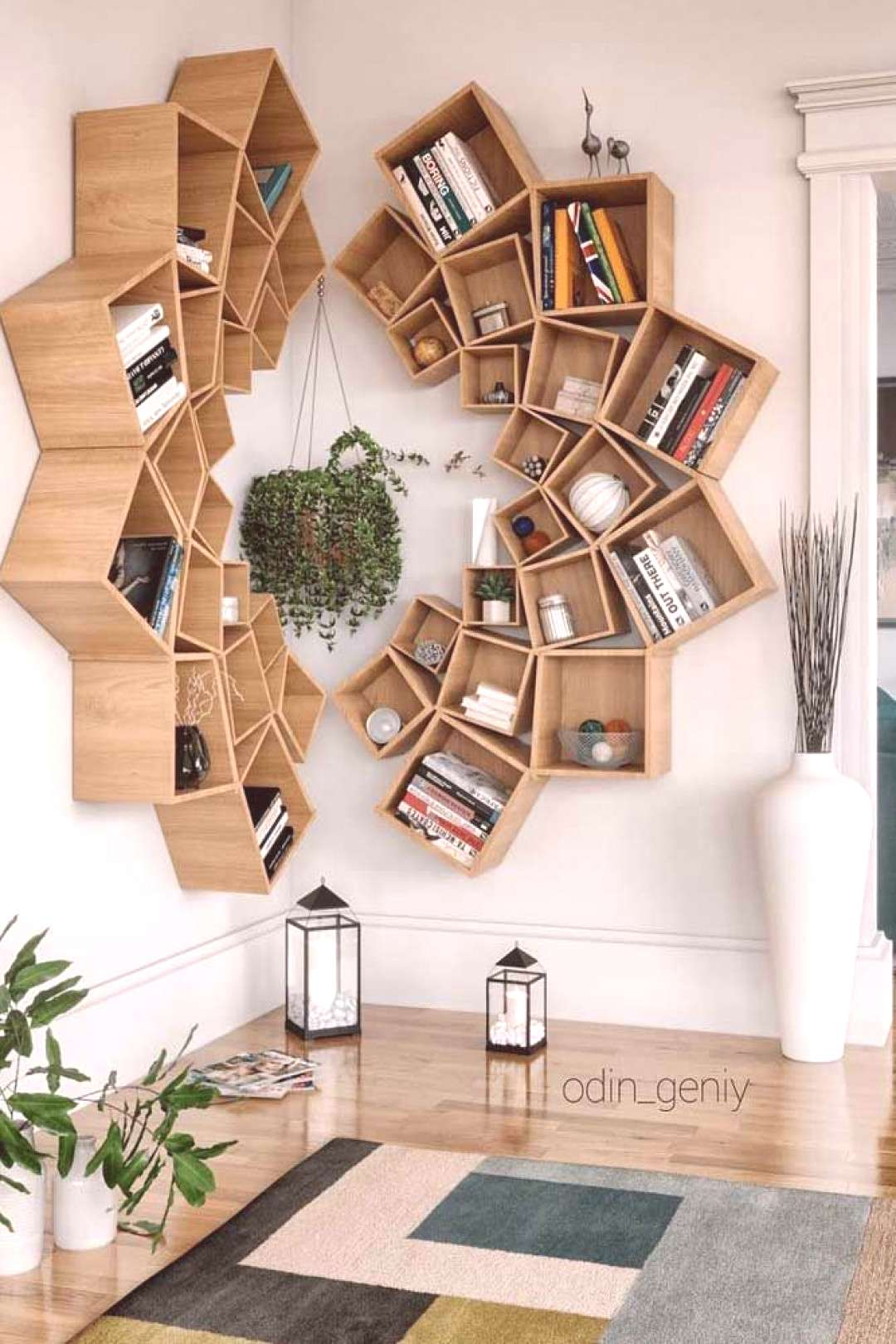 A great way to provide some extra storage, but make it look unqiue in any room.