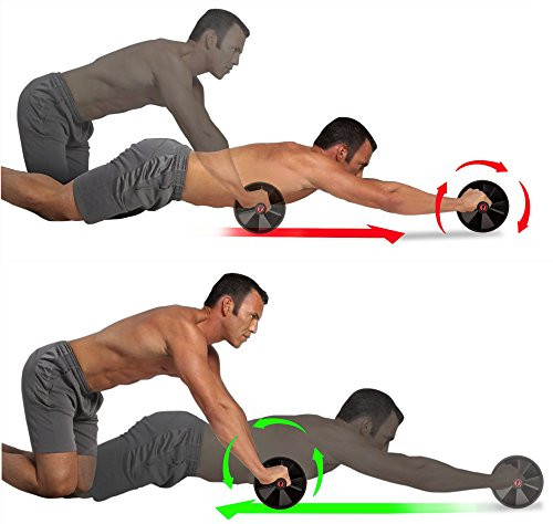 Ab Roller for Abs Workout - Ab Roller Wheel Exercise