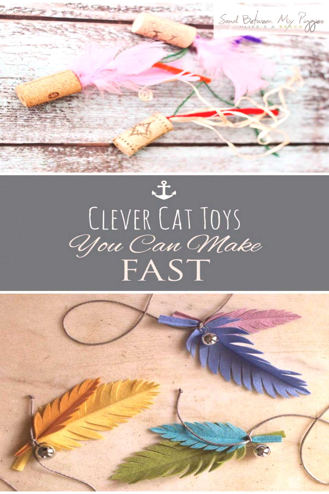 Clever Cat Toys You Can Make FAST  Cat Toys, DIY Cat Toys, Homemade Cat Toys, Cat Toy Projects, Ani