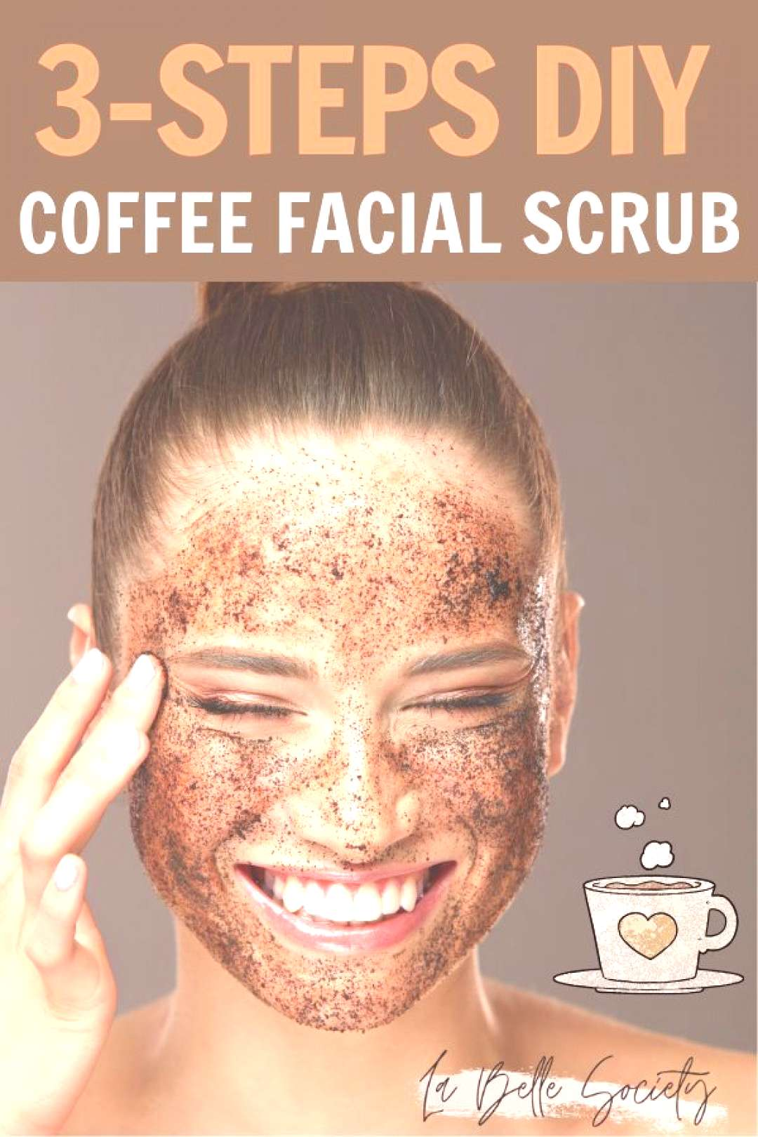 DIY Coffee Face Scrub Recipe for Acne Ever wanted to make a natural exfoliator scrub made out of co