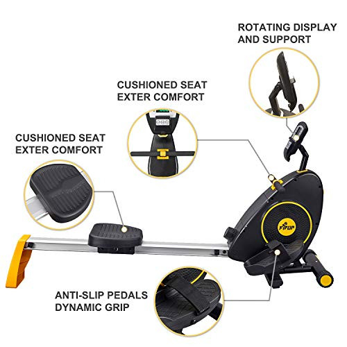 FISUP Exercise amp Fitness Rowers Magnetic Rowing Machine