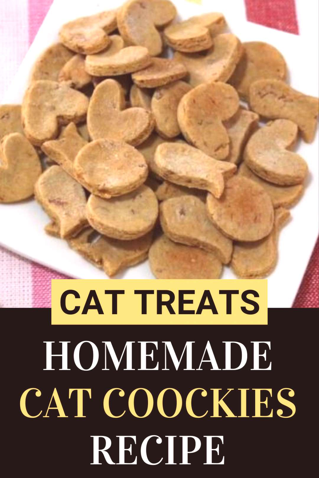 Homemade Cat Cookies Recipe If youre looking for homemade cat treats recipes easy and healthy, thi