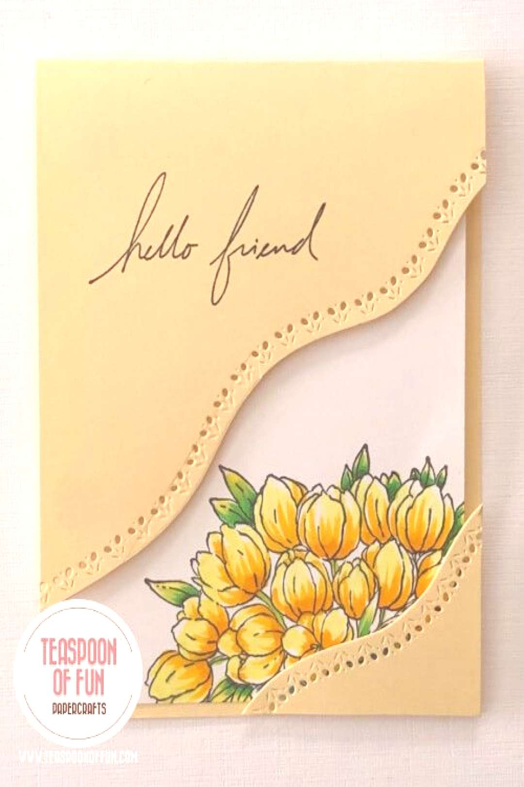 How to make a Boxed Frame Card with Deb Valder - Stampladee - Deb Valder - Paper Crafter Extraordin