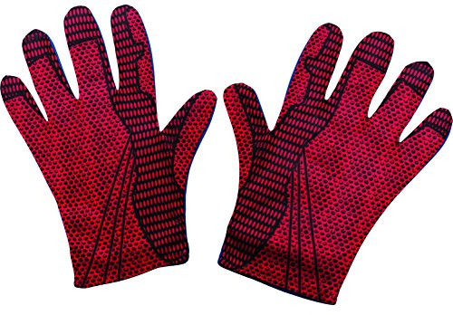 Rubies Costume Mens The Amazing Spider-Man Adult Gloves,