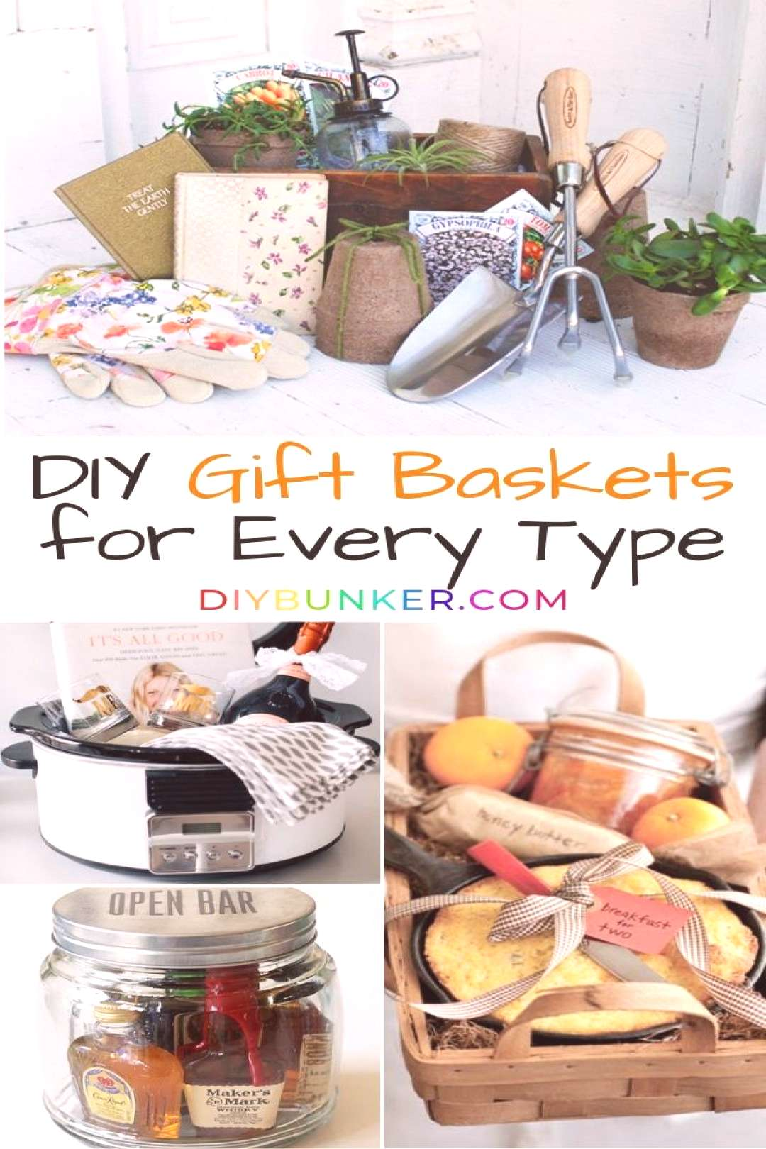 These gift basket DIY ideas are PERFECT if youre looking to give your friends a homemade gift. Awe