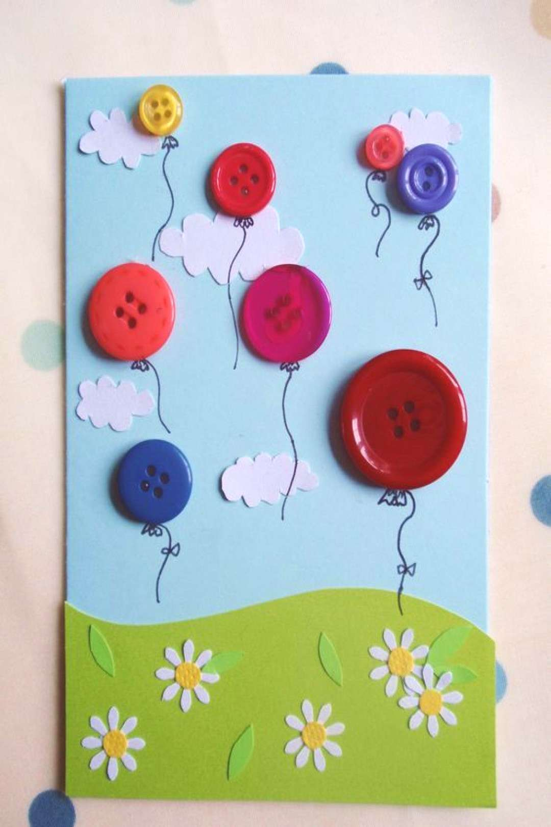 Using Buttons on Your Homemade Cards – Crafty Bug Blog